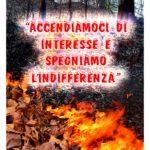 locandina incendi boschivi